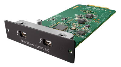 UNIVERSAL AUDIO THUNDERBOLT 2 OPTION CARD плата Thunderbolt 2 для аудио-интерфейсов Apollo