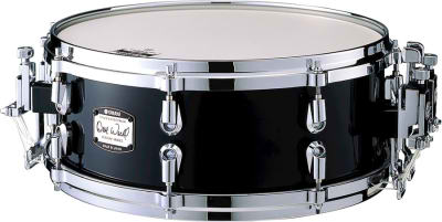 YAMAHA MSD14ADW DAVE WECKL малый барабан 14X5.5 клён.цвет SOLID BLACK